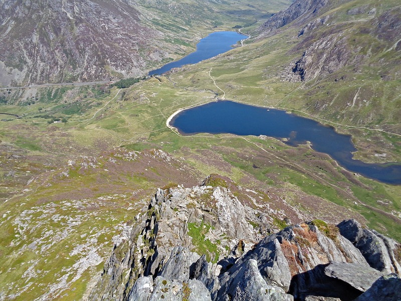 Y Garn East Ridge and Llyn Idwal