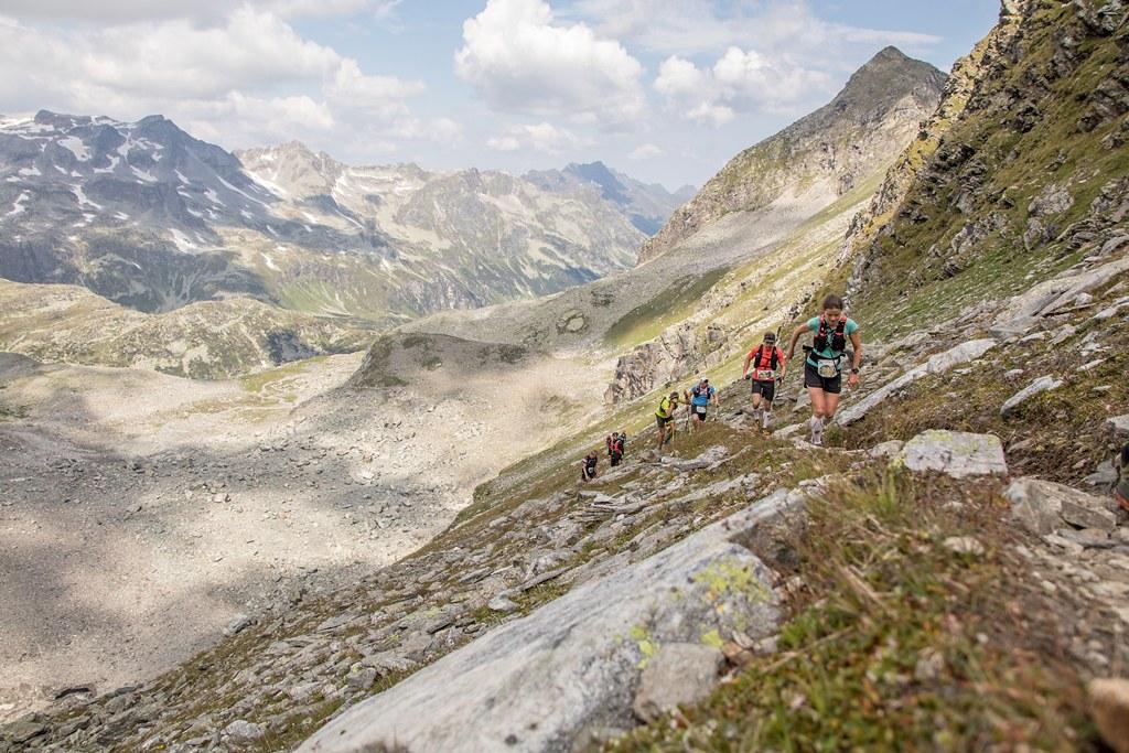 Στην ανάβαση για το Kapruner Torl | (c) wusaonthemountain.at