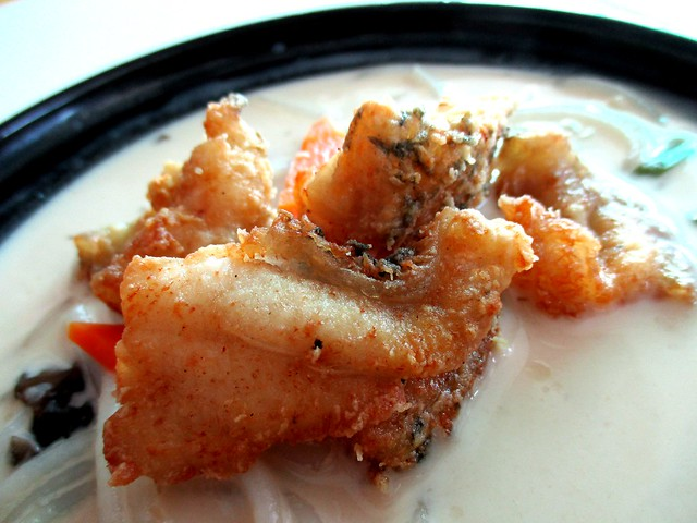 Sabah Kertang fish, pre-fried