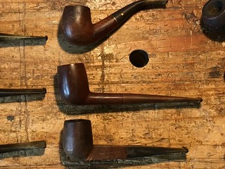 Pipe Restoration #2 before Wally Frank Billiard 8-2018 | by Bibliophile 13
