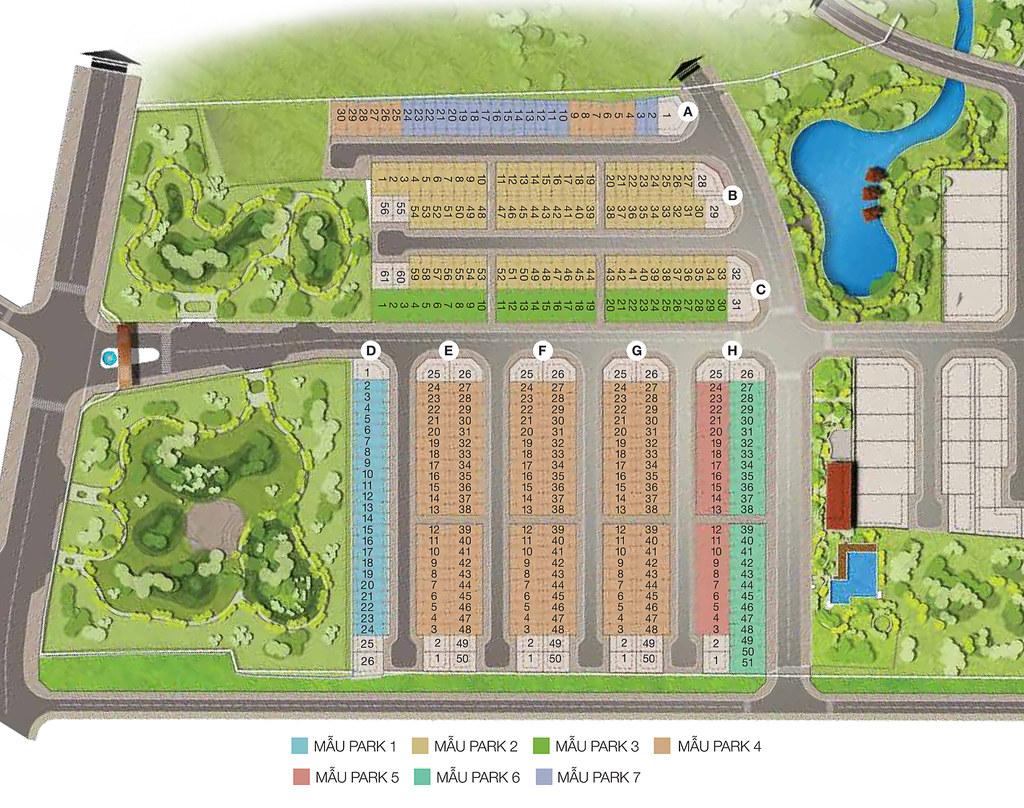 7 thiết kế nhà phố liên kế nổi bật tại dự án Park Riverside 5