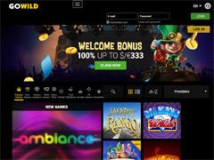 GoWild Casino Lobby