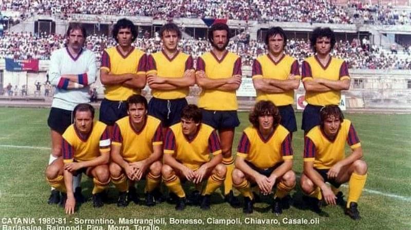 Catania 1980-81 (Foto: Mimmo Rapisarda)