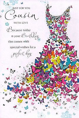 Quotes About Birthday Female Cousin Traditional Card