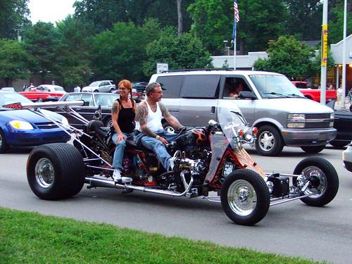 Four Wheeled Motorcycle Four Wheeled Motorcycle Woodward