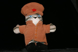 Soviet Red Army Kitten plush toy product demo | by Joel Veitch