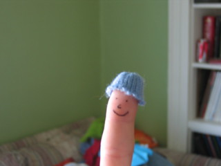 mle's finger puppet | by nessavay