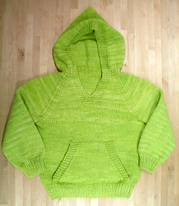Knitting Pattern For Wallaby Sweater : Green Wallaby The Wonderful Wallaby Pattern by Cottage ...