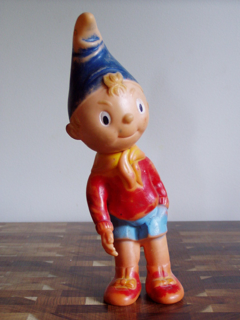 Toys For 9 And Up : Noddy toy given to my brother in when he was