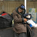 Arbat 5. Homeless woman