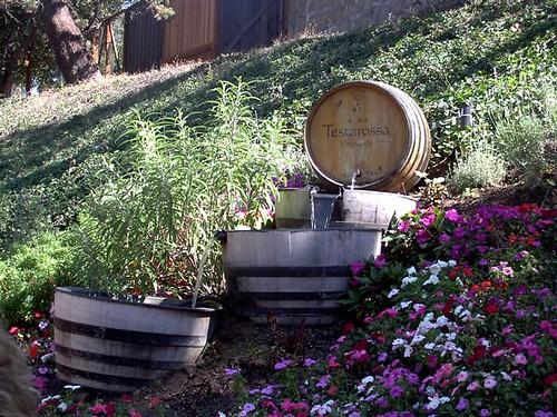 Wine Barrel Waterfall Kristi Flickr