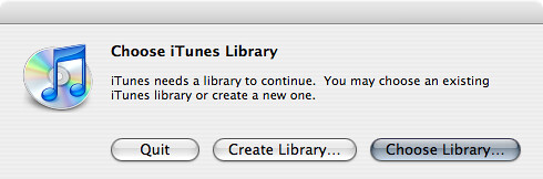 iTunes 7 FINALLY Supports Multiple Libraries | by Rob Speed