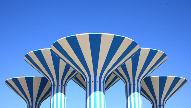 Water Towers - Kuwait | Khalid Al-Haqqan | Flickr All Sizes Water Towers Kuwait Photos