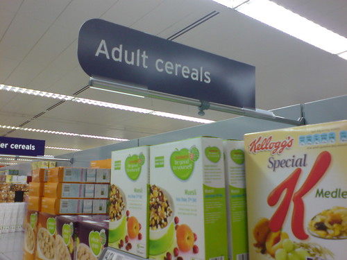 Adult Cereals | by artesea