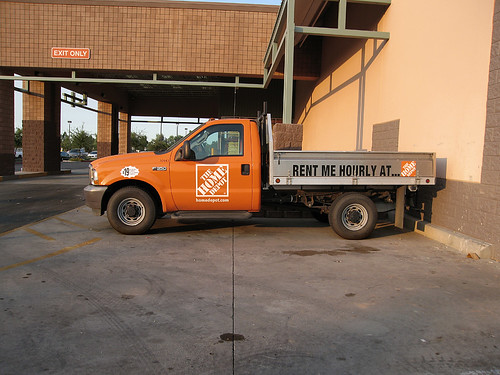 the home depot rental truck peoria arizona 2006 outer suburban head flickr. Black Bedroom Furniture Sets. Home Design Ideas