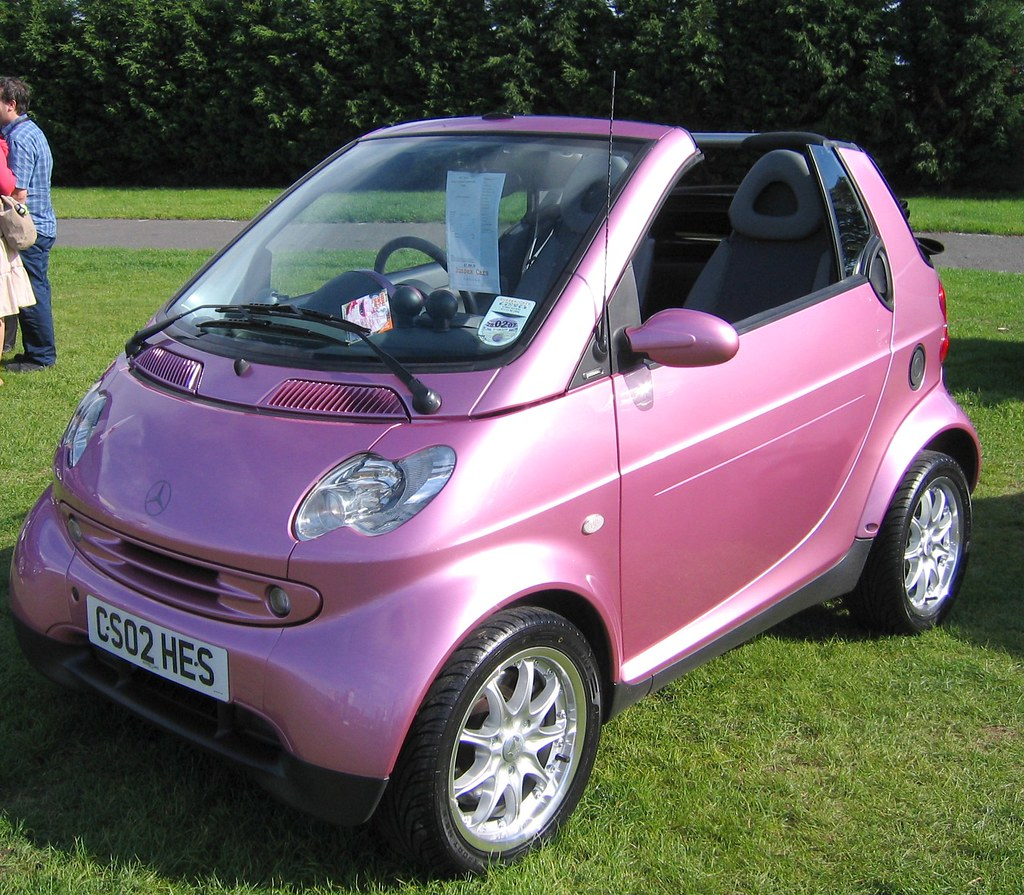 another pink smart at brighton end of the london to bright flickr. Black Bedroom Furniture Sets. Home Design Ideas