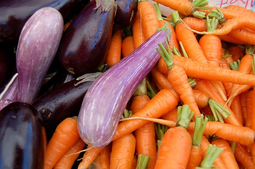 Carrots and Eggplants | by ilovebutter