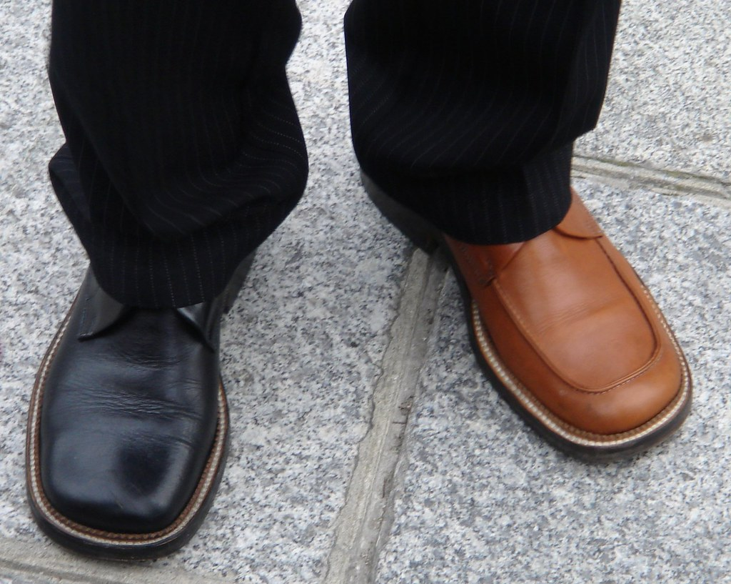 Brown Dress Pants And Brown Shoes