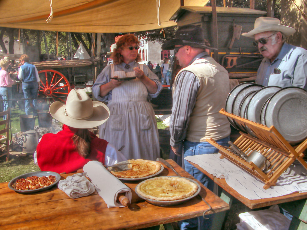 "Cowboy Cookin' | Cowboy re-enactors at ""Red Steagall's ..."