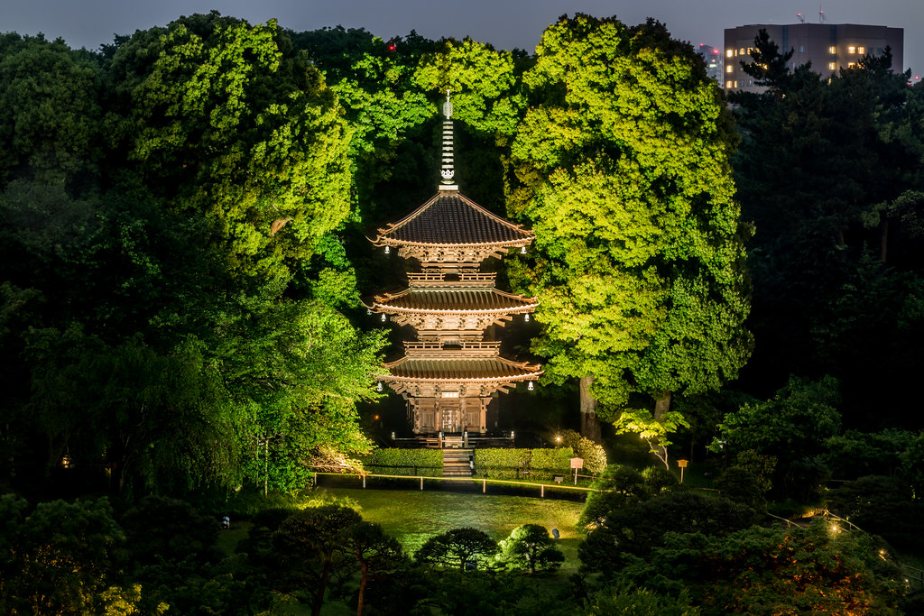 ... Hotel Chinzanso Tokyo Garden Pagoda | By Joshua Mellin