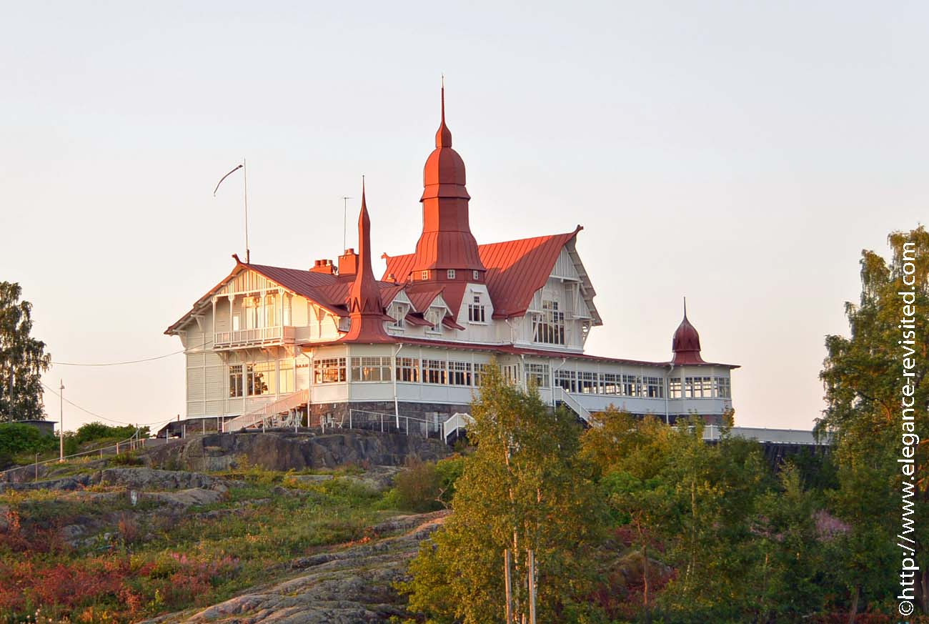 Helsinki summer restaurant