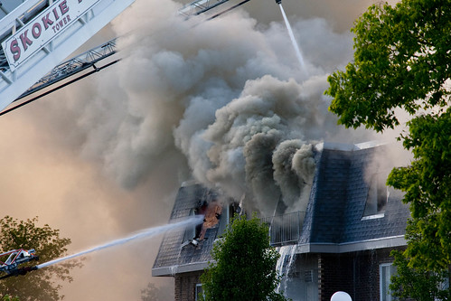 Massive Condominium Complex Fire Prospect Heights Illinois 7-18-18  2667 | by www.cemillerphotography.com