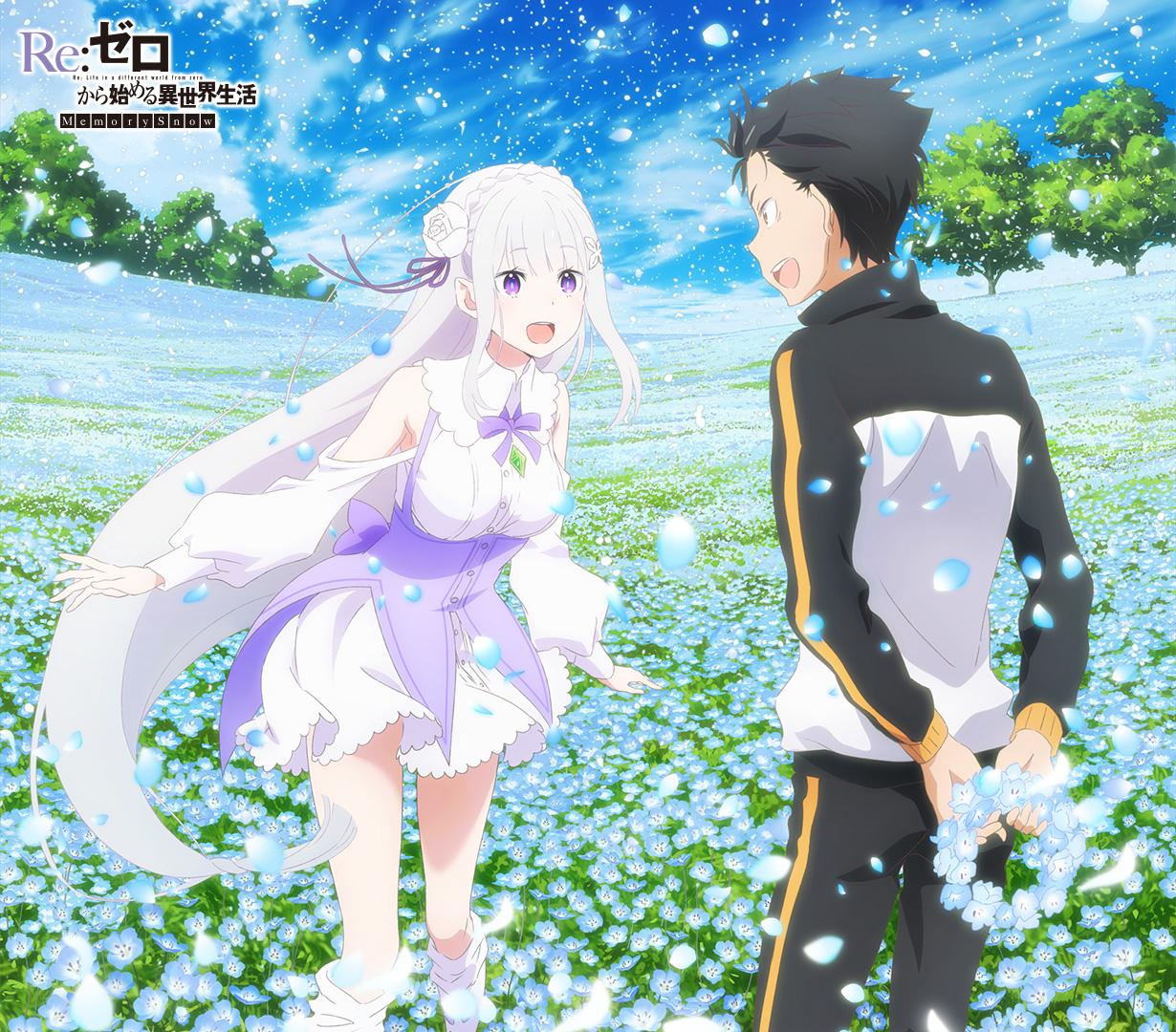 180730 - WHITE FOX原班人馬動畫團隊、OVA《Re:ゼロから始める異世界生活 Memory Snow》將在10/6搶先上映!