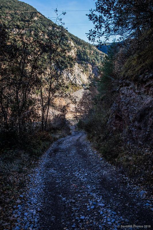 Vieja carretera de Sant Salvador de la Vedella