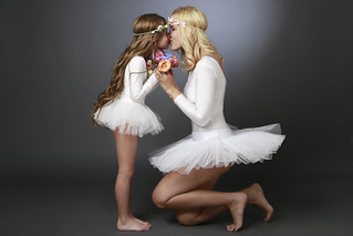 Family Photography - Mother & Daughter Ballet | by vanitystudiosphotography