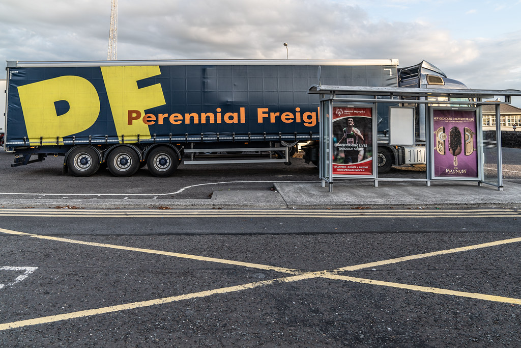 BUS EIREANN DEPOT AND BUS SHELTER  FERRYBANK WATERFORD 002