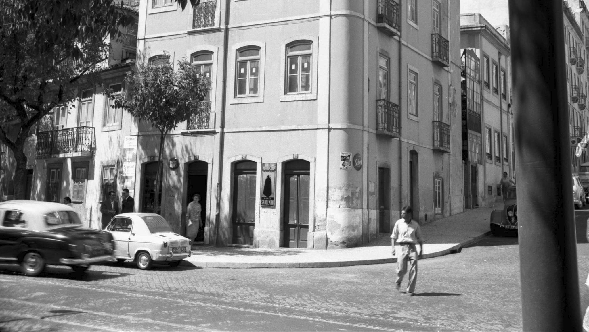 Prédio para demolir, Estefânia (A.J. Fernandes, 1961)