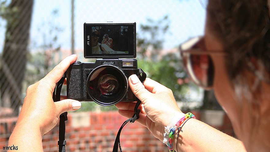 cámara digital amkov selfie