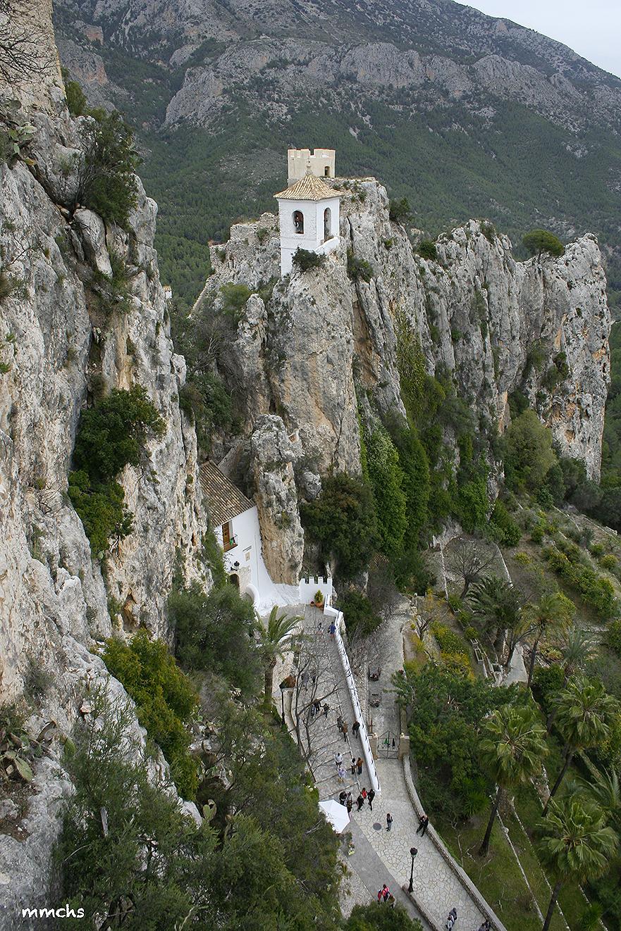 vistas del Castell de Guadalest