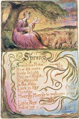 william blake to spring