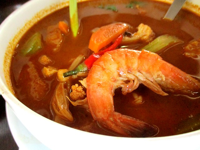 The Cafe IND tom yam soup 2