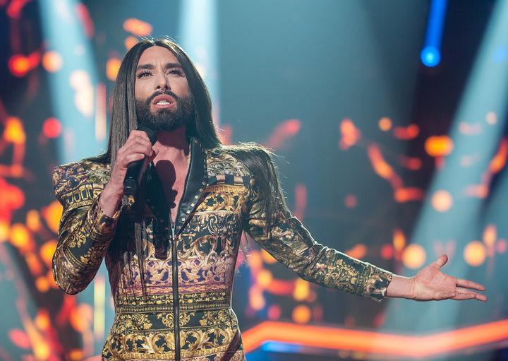 2014年欧洲歌唱大赛冠军伍斯特。(图片来源:obert Marquardt/Getty Images)