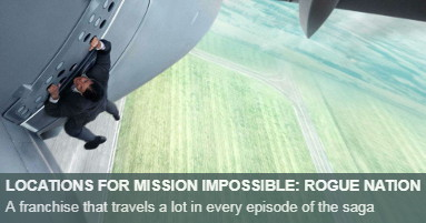Mission Impossible Rogue Nation Locations