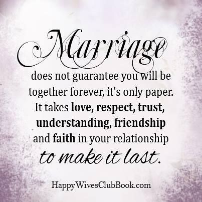 Quotes About Love Marriage Does Not Guarantee You Will B Flickr
