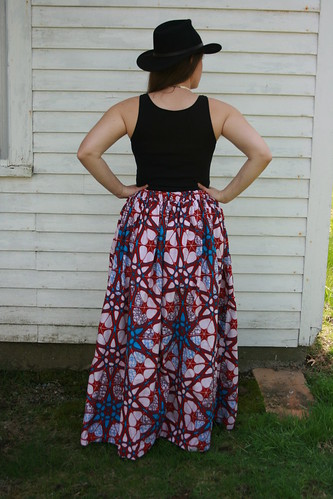 Ankara (Wax Print) Maxi Skirt | by patternandbranch
