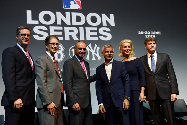 It's official. MLB is coming to London.