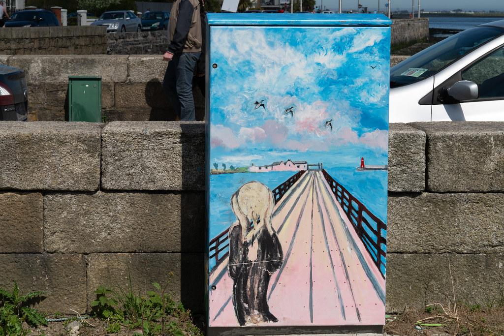 BYMIER BULL WALL BY MARIE FALLON [BESIDE THE WOODEN BRIDGE IN CLONTARF]  001