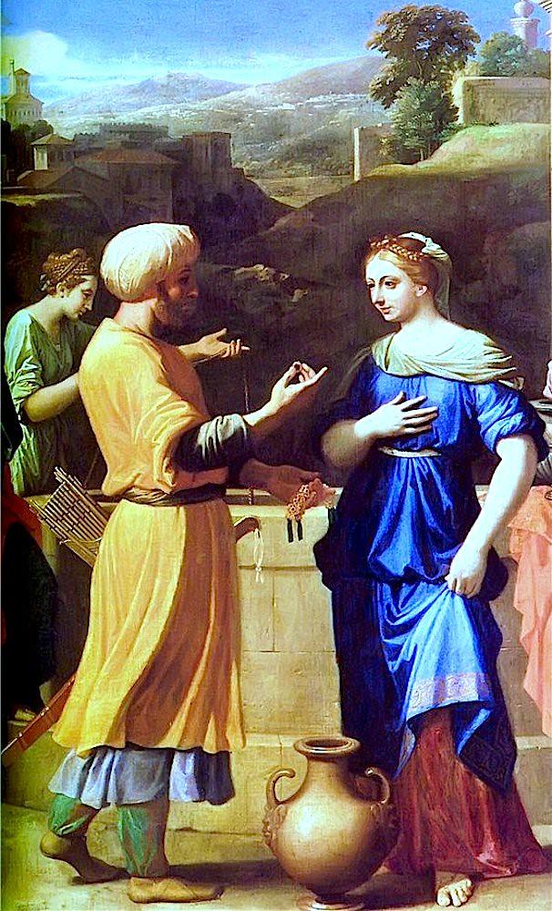 Встреча раба Авраамова и Ревекки у колодца
