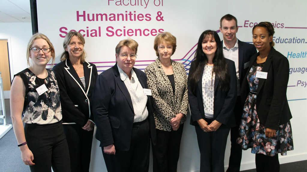Representatives from the SSAT and our Department for Education at the event held on campus on Tuesday.
