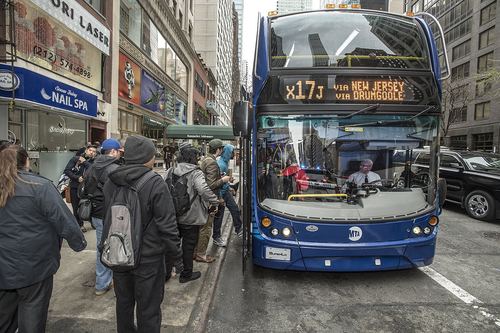 Bus Plan New Double Decker Bus On X17 Route By Mtap Os
