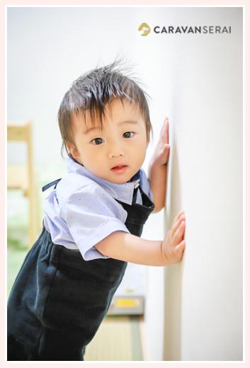 男の子 タッチの写真