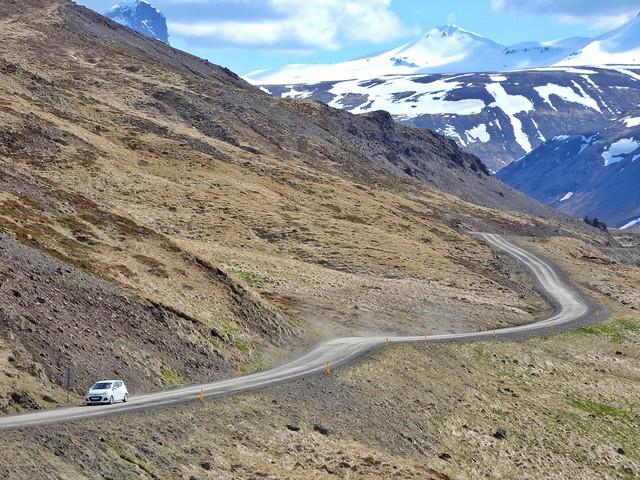 Carretera en Snaefellsnes (Islandia)