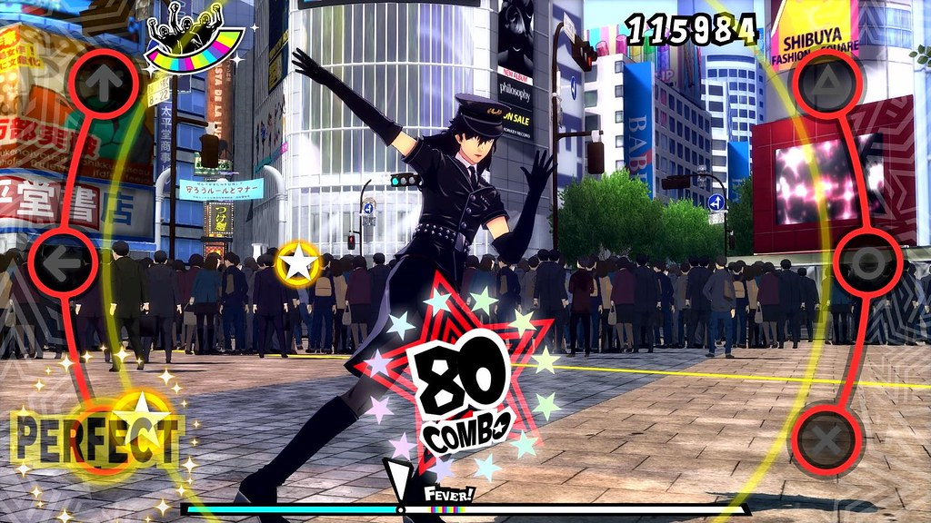 Persona 5 and Persona 3 Dancing