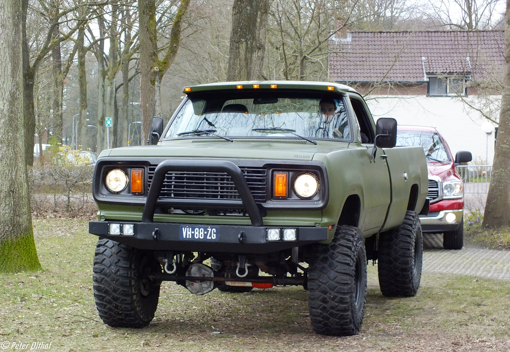 Dodge 4x4 Trucks >> 1977 Dodge W200 | Rolde | peterolthof | Flickr