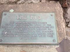 The Hub Plaque