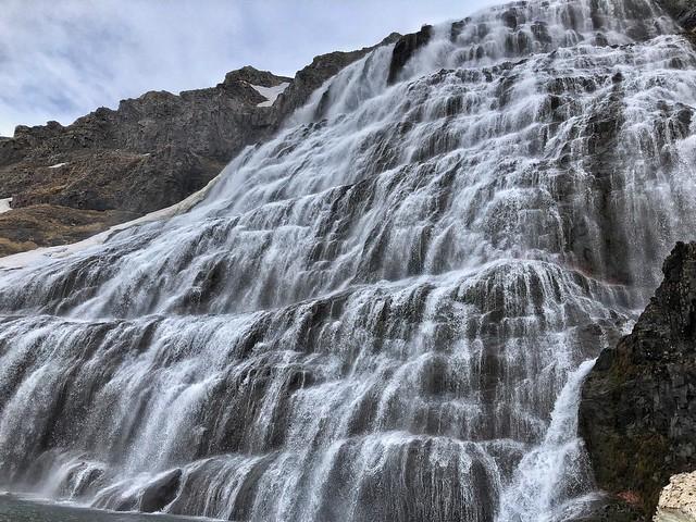 Dynjandi, el velo de la novia (Cascada de Islandia)